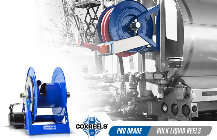 bulk liquid handling coxreels application
