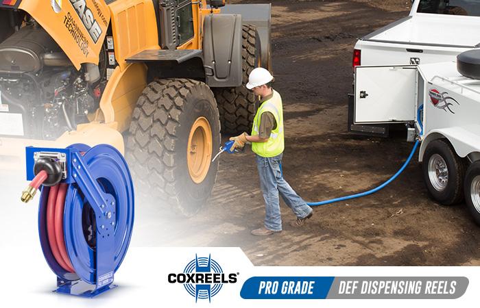 def dispensing coxreels application