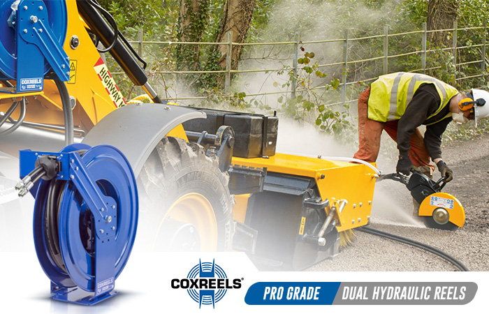 dual hydraulics coxreels application
