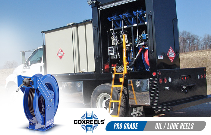 oil & lube coxreels application