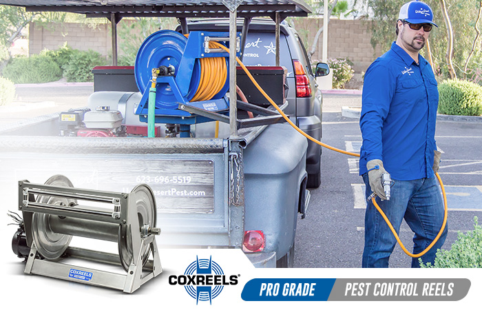 pest control coxreels application