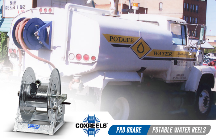 potable water coxreels application