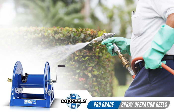 spray operations coxreels application