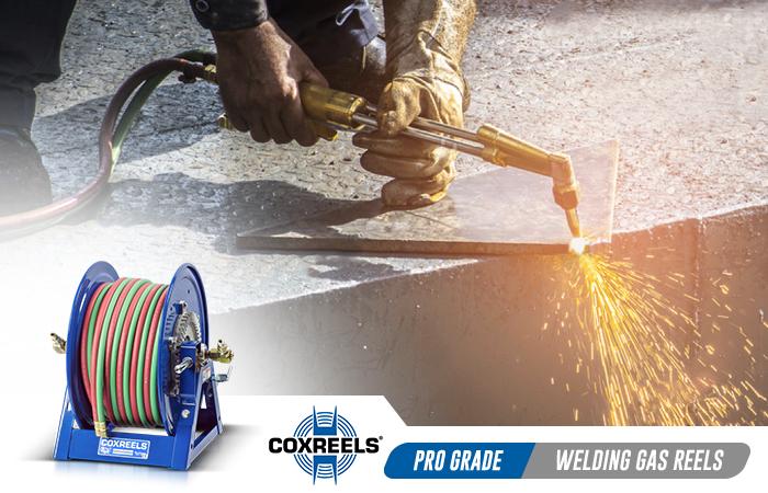 welding gas oxy acetylene coxreels application