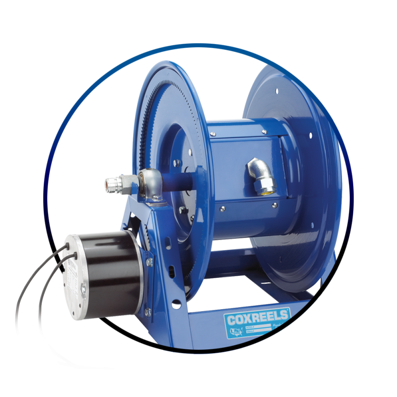 Products Motorized Reels At Coxreels