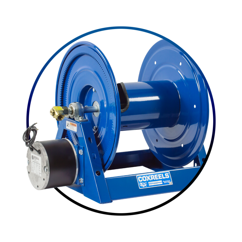 Motorized Hose Reels