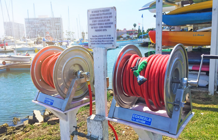 marine coxreels application